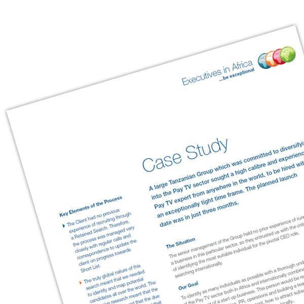 Case Studies | Executives in Africa