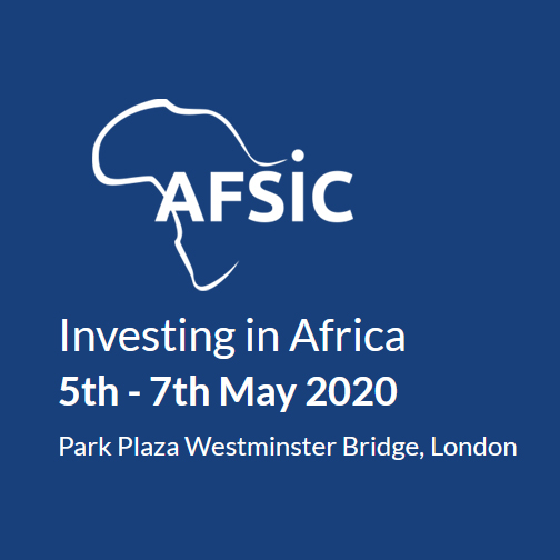 EiA – Gold Sponsors of AFSIC 2020 in London May 5-7th 2020